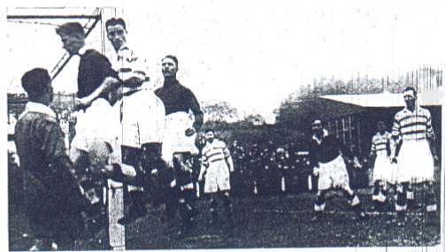 last match before season suspended, v Killie 1939